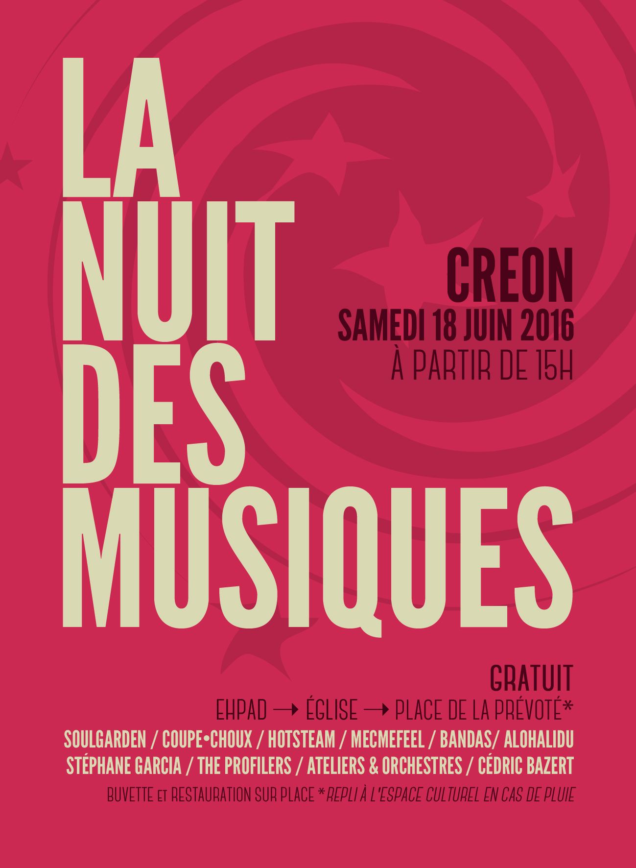 Nuit de la musique à Créon